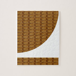 Gold Strips Design: Using NEW Creative Cut Out ART Jigsaw Puzzle