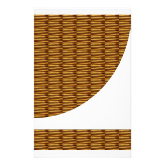 Gold Strips Design: Using NEW Creative Cut Out ART Customized Stationery