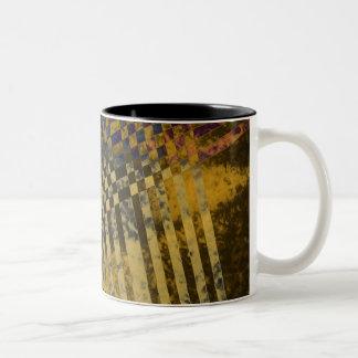 Gold Strips Mug