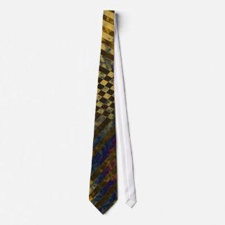 Gold Strips Tie