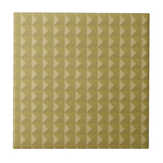 Gold Studded Pyramid Pattern Tile