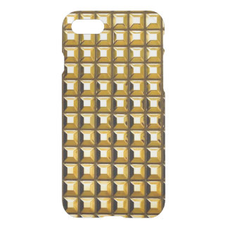 Gold Studs iPhone 7 Clear Case