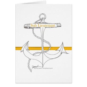 gold sub lieutenant, tony fernandes card