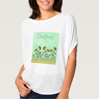 Gold Sunflower Yellow Country Prims Summer Autumn T-Shirt