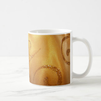 Gold Swirl Coffee Mug