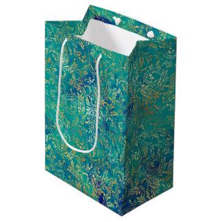 Gold Swirls Medium Gift Bag