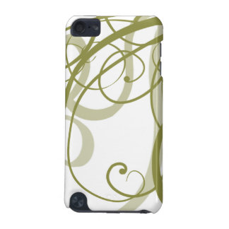 Gold Swirls Pattern iPod Touch (5th Generation) Cover