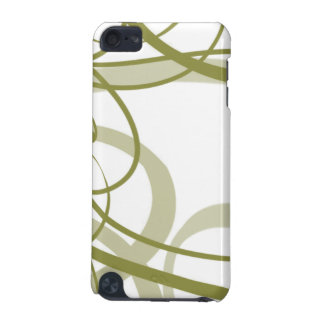 Gold Swirls Pattern iPod Touch 5G Cases