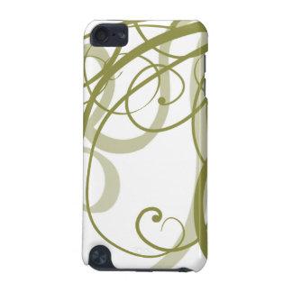 Gold Swirls Pattern iPod Touch (5th Generation) Case