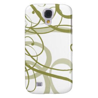 Gold Swirls Pern Galaxy S4 Case