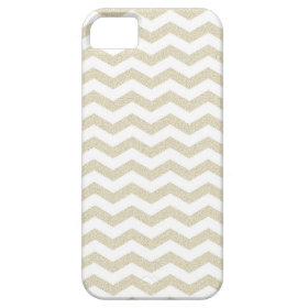 Gold taupe chevron zig zag hipster zigzag pattern iPhone 5 cases