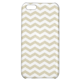 Gold taupe chevron zig zag textured zigzag pattern iPhone 5C covers