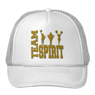 GOLD TEAM SPIRIT TRUCKER HAT