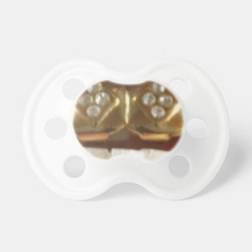 gold teeth grill baby gangsta pacifier