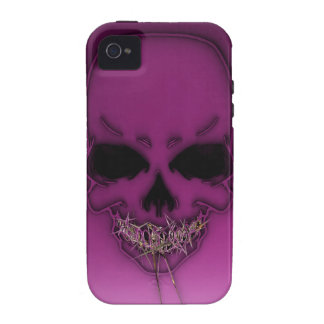 Gold Teeth Skully iPhone 4 Case