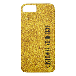 GOLD TEMPLATE CUSTOMIZE TEXT POPULAR FASHION iPhone 8/7 CASE