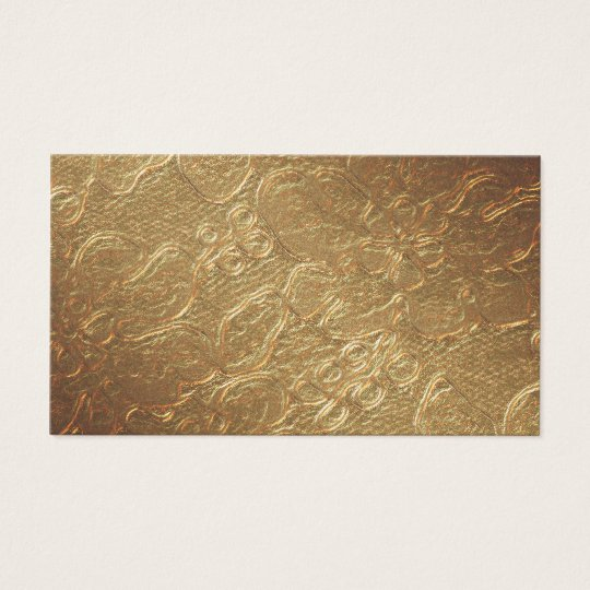 Gold Texture Business Card