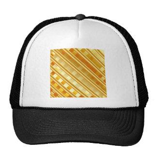 Gold texture trucker hat