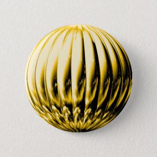 Gold textured ball button