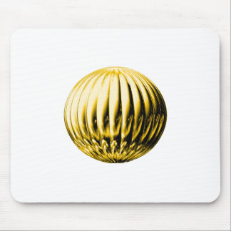 Gold textured ball mouse pad