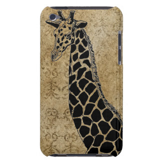 Gold Textured Giraffe II - iPod Touch Case iPod Touch Cases