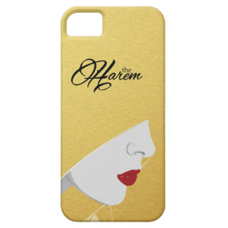 Gold The Harem Woman Logo iPhone Case iPhone 5 Cover