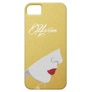Gold The Harem Woman Logo iPhone Case iPhone 5 Cases