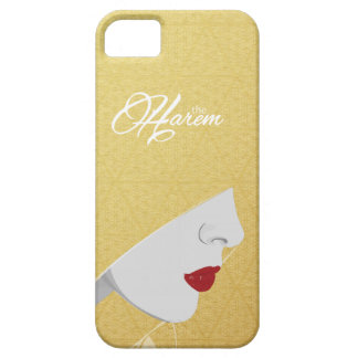 Gold The Harem Woman Logo iPhone Case iPhone 5/5S Case