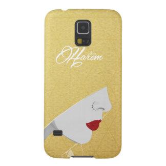 Gold The Harem Woman & Logo Samsung Case