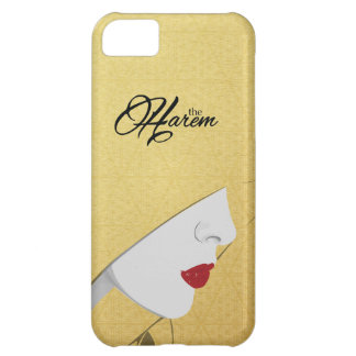 Gold The Harem Woman Pattern Logo iPhone Case Cover For iPhone 5C