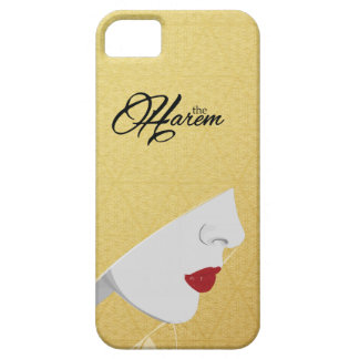Gold The Harem Woman Pattern Logo iPhone Case Cover For iPhone 5/5S