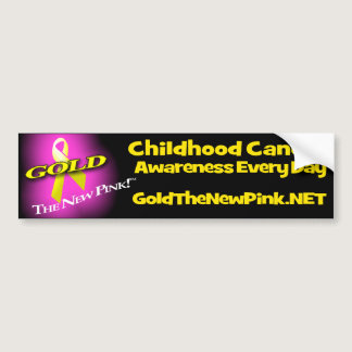 GOLD: The New Pink Bumper Sticker