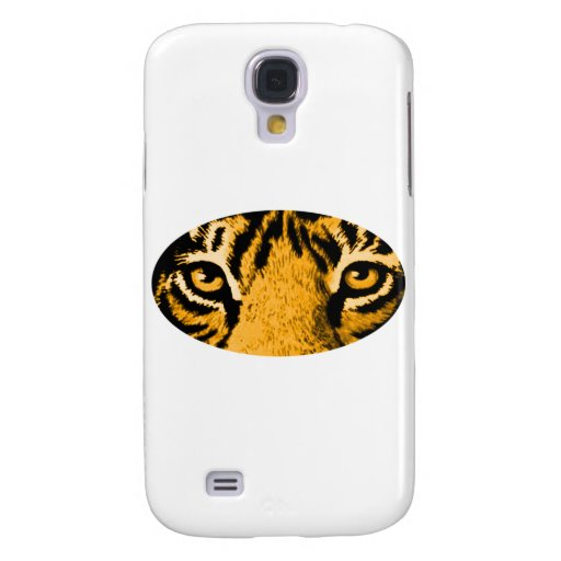 Gold Tiger Eyes The MUSEUM Zazzle Gifts Samsung Galaxy S4 Case