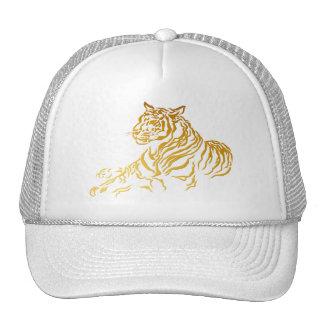 Gold Tiger Hat