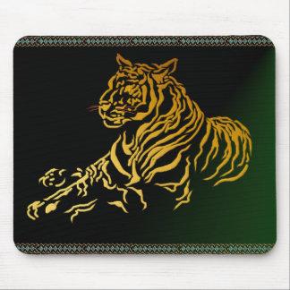 Gold Tiger Mousepad