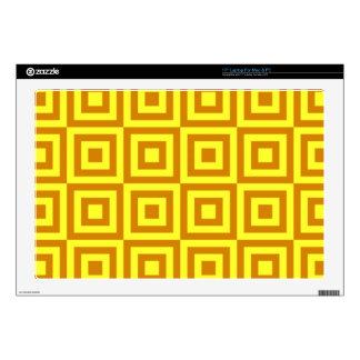 Gold Tiles Laptop Skins