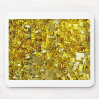 Gold Tinsel Mouse Pad