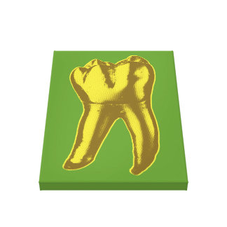 Gold Tooth Canvas Print