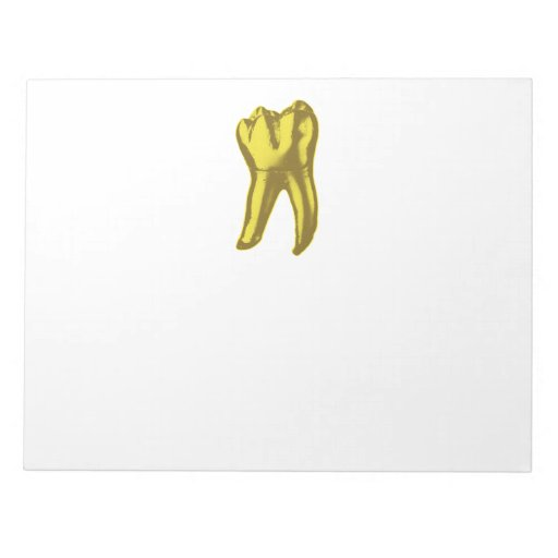 Gold Tooth Memo Note Pads