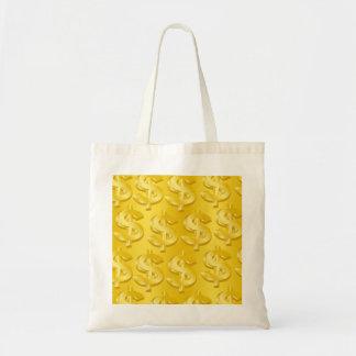 $ Gold $ Tote Bag