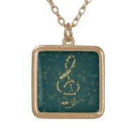 gold treble clef jewelry