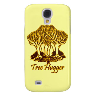 Gold Tree Hugger Nature Trees Environment Samsung Galaxy S4 Case