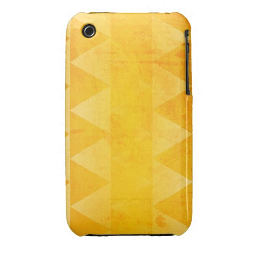 Gold Triangles iPhone 3 Case