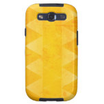 Gold Triangles Samsung Galaxy S3 Cover