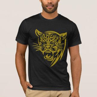 Gold Tribal Tiger T-Shirt