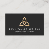 Gold Trinity Knot Celtic Symbol