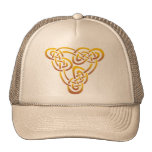 Gold Trinity Knot Hat