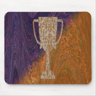 Gold TROPHY : Award Reward Celebration Mouse Pad