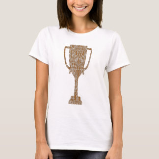 Gold TROPHY : Award Reward Celebration T-Shirt