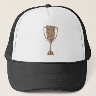 Gold TROPHY : Award Reward Celebration Trucker Hat